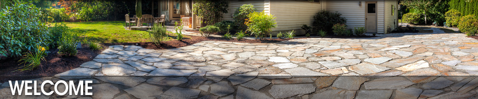Stone Paved Patio